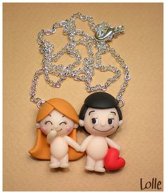 Fimo LOVE IS.. by ~LolleBijoux on deviantART