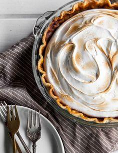 Maple Sweet Potato Meringue Pie