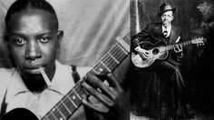 Robert Leroy Johnson  (May 8, 1911 – August 16, 1938)  Johnson was an American blues singer and musician. His landmark recordings from 1936–37 display a combination of singing, guitar skills, and songwriting talent that has influenced later generations of musicians. Johnson's shadowy, poorly documented life and death at age 27 have given rise to much legend, including the Faustian myth that he sold his soul at a crossroads to achieve success.