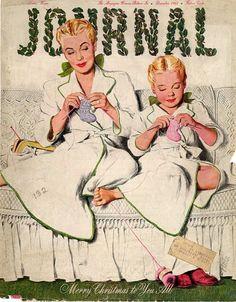 Christmas-knitting