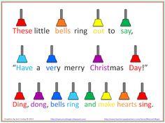 grade-for Christmas program Christmas Poems, Christmas Program, Christmas Concert, Christmas Bells, Christmas Time, Christmas Music, Christmas Carol, Preschool Music, Music Activities