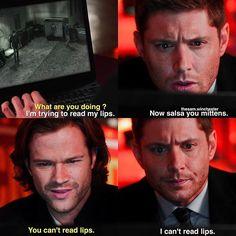 S12e11 regarding dean: I love this scene