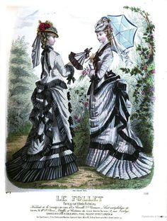 1875 le follet, journal du grand monde                                                                                                                                                                                 More