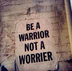 I choose warrior