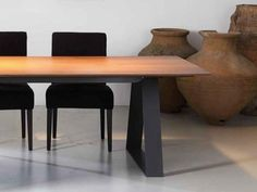 Rectangular dining table CONCORDE | Table - Ph Collection