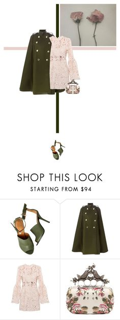 """25/365: First Day of Spring"" by liska-lis ❤ liked on Polyvore featuring Givenchy, Sacai Luck and Alexander McQueen"