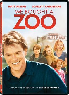 We Bought a Zoo - Just watched this movie played by Matt Damon and Scarlett Johansson and inspired by true story. Very funny and inspiring! A family moves to the countryside to renovate and re-open a struggling zoo. Check here for the true story behind the movie: http://www.telegraph.co.uk/culture/film/9108388/We-Bought-a-Zoo-the-true-story-behind-the-film.html