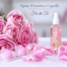 SPRAY Protettivo Capelli Fai da Te   Ricetta SEMPLICE ed EFFICACE