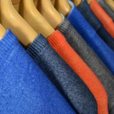Men's cashmere sweaters - Handmade with airbrushed treatment