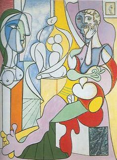 """""""The Sculptor"""".Artist: Pablo Picasso Completion Date: 1931 Style: Surrealism Period: Neoclassicist & Surrealist Period Genre: genre painting. Art Prints, Cubist, Sculptor, Painting, Pablo Picasso Art, Visual Art, Art, Abstract, Artwork Painting"""