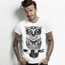 2016 New Fashion Summer Men O Neck Cotton T-shirt 9 Colors Fashion Prints Men Short Sleeve Tops Shirt(China (Mainland))