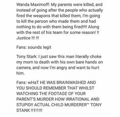 i love tony and i believe he was totally justified in his actions but doN'T HURT MY BUCKY