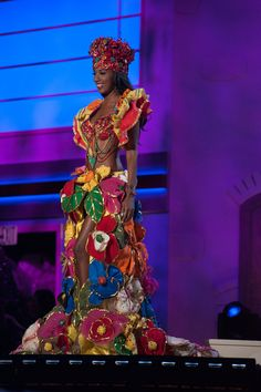 Haiti - National Costume Inspired By The Miss Universe 2015 Pageant