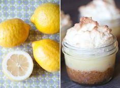 Mini Lemon Honey Meringue Pies - Sugar and Charm - sweet recipes - entertaining tips - lifestyle inspiration