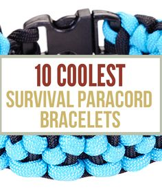 Paracord survival bracelets can store essential survival tools for various survival situations. Survival Life is the best source for survival gear and tips. Paracord Tutorial, Paracord Knots, Paracord Bracelets, Survival Bracelets, Survival Life, Survival Prepping, Survival Gear, Survival Skills, Survival Hacks