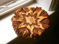 Nutella Brioche Star Twist [2048 x 1534] [OC]