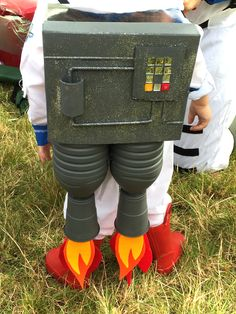Camp Bestival is happening in just over a month's time and the theme this year is Outer Space; here's how to make a rocketpack to turn you into a spaceman!