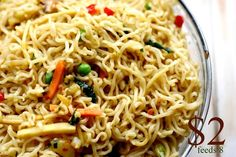 """chinese noodles-  we all LOVED this, it made plenty, and """"tasted like real restaurant food!""""  My kids thought it was like eating at Panda Express.  Do over for sure!"""