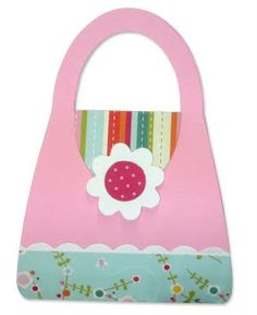 cute paper purse for party favor   girls birthday party