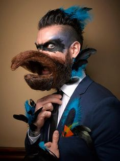 The 2016 National Beard and Moustache Championships featured some of the most flamboyant facial hair you'll ever see. Marvel at some of the crazy looks here.