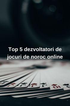 Top 5 dezvoltatori de jocuri de noroc online #casino #Romania #jocuri Noroc, Top 5, Fantastic Four, Poker, News