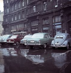Volkswagen Beetles, School Style, Back In Time, Historical Pictures, Retro Cars, Old Cars, Hungary, Budapest, Peugeot