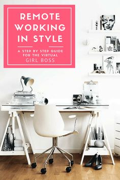 Blogger Tips for remote working. Have you recently started working from home and feel that the space is not inspiring enough? Are you considering moving from your normal workplace to your spare bedroom and wonder how to set up your space? This post is perfect for you! Interior styling ideas for beautiful rooms that will enhance your remote working experience. Easy styling guide and tips for decor on chairs, desk and lamps. Using IKEA's simplest desk (and chea