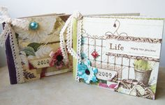 Life mini book -Webster's pages-