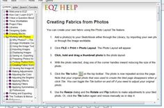 """You can create your own """"fabric"""" using the Photo Layout Tile feature.    Add a photo(s) to your Sketchbook either through the Library...        by importing your own photos...    or through the Image worktable...    Click FILE"""