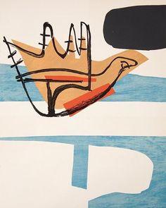 Le Corbusier, Poème de l'angle droit, 1955. #Art #LeCorbusier