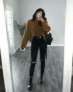 Outfit by . … Outfit by . …,Style Outfit by . … 🌹🌹🌹 Outfit by Rubilove . jacket outfit ideas with camo pants fashion outfits outfits Cute Fall Outfits, Winter Fashion Outfits, Fall Winter Outfits, Autumn Fashion, Summer Outfits, Fashion Fashion, Dress Summer, Womens Fashion, Trendy Fashion