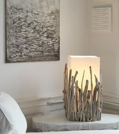 Wohnzimmer mehr – Möbel # Möbel # Wohnzimmer – # Möbel # Wohnzimmer - Dekoration Living room more - furniture # furniture # living room - # Furniture # living room dekorasyon Driftwood Lamp, Driftwood Projects, Wood Lamps, Table Lamps, Wood Art, Diy Home Decor, Diy And Crafts, Candles, Living Room