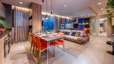 Home Residence - Patrimar Decor, Living Room, Furniture, House, Sala, Home Office, Home, Small Apartments, Modern Apartment