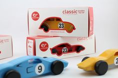 Wooden Toy Classic Cars, Wooden Toy for Kids, Boys, Toddlers, Children, Classic Race Cars (set of 5 cars)  Let your child imagine that he/she is running in a race track, with one of this stunning wooden race cars. This set of 5 wooden cars is inspired by some of the most charismatic cars of all time: the Ferrari 250 GTO, the Lamborghini Miura, the Ford GT40, the Porsche 911 TURBO or the Mercedes 300 SL Gullwing. This wooden car set is entirely handmade in natural wood, with high quality ...