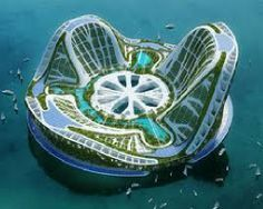 Lilypad floating city concept designed by Architect, Vincent Callebaut. From 'Lilypad floating city concept' on Gizmag. Architecture Design, Amazing Architecture, Floating Architecture, Architecture Fails, Architecture Today, Concept Architecture, Futuristic City, Futuristic Architecture, Innovative Architecture