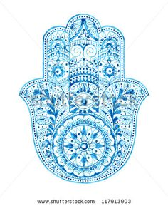 hamsa art | Hamsa Hand (Hand Drawn) Stock Photo 117913903 : Shutterstock
