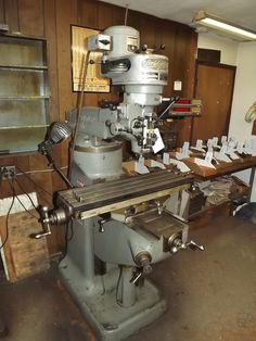 """PA - CNC & Tool Room Equipment - August 28th - Bidding Open August 16th - 28th Auction starts to close at 1 PM eastern on the final day of bidding  BRIDGEPORT J-HEAD MILLING MACHINE, S/N 117106, 9"""" X 36"""" TABLE, SONY MAGNESCALE LF200 DRO, 220 VOLT, 3 PHASE (TO QUOTE RAY THIS IS THE QUIETEST BRIDGEPORT I HAVE EVER HEARD"""").  Available at Online Auction at http://www.acceleratedbuysell.net/cgi-bin/mnlist.cgi?perillo50/category/ALL"""