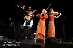 Photos – Annie Moses Band, 10/25/14, McAuley Performance Center, Cincinnati, OH