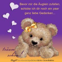 Grüße zur Nacht Good Night, Good Morning, Christian Dating Advice, New Friends, Smiley, Teddy Bear, Humor, Funny, Google