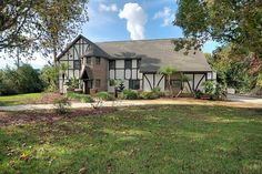Front Elevation Just Sold! Magnificent Tudor Style Home on HUGE Lot in Titusville!