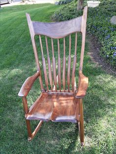 Sam Maloof Inspired rocking chair - Happy Mother's Day