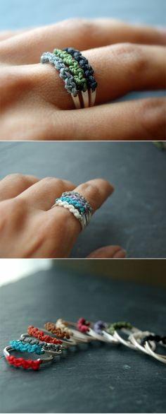 DIY ring~~~cute~~~