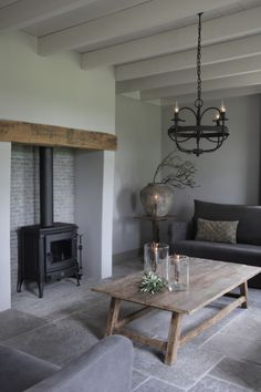 Inglenook Fireplace, Home Fireplace, Living Room Flooring, Interior Design Living Room, English Cottage Interiors, Small Room Bedroom, Living Styles, Home Furniture, Sweet Home