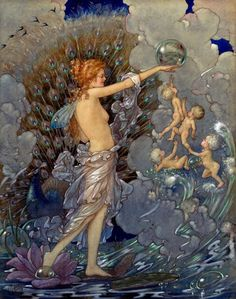 1919 Harold Gaze (New Zealander 1885-1962) ~ Ocean Fairy