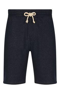 Indigo Jersey Fashion Shorts