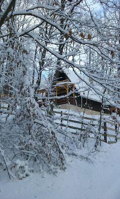 A Csalogány vendégház télen