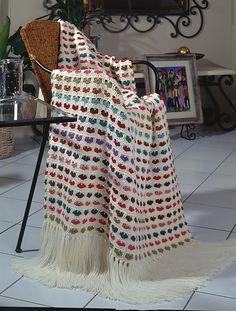 I love scraps afghan (pattern) from Crochet-world Crochet Motifs, Afghan Crochet Patterns, Crochet Stitches, Crochet Hooks, Free Crochet, Knit Crochet, Irish Crochet, Double Crochet, Crochet Crafts
