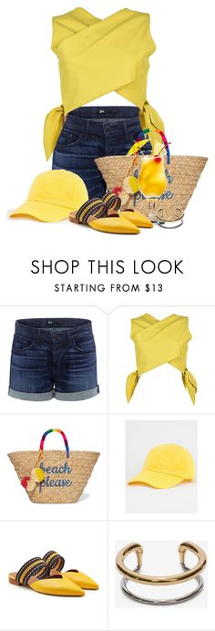 """""""Summertime and the Livin' is easy"""" by flowerchild805 ❤ liked on Polyvore featuring 3x1, MSGM, Kayu, Aquarius, Malone Souliers and Alexander McQueen"""
