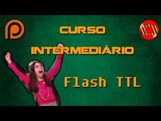 Curso de fotografia intermediário - Flash TTL - YouTube