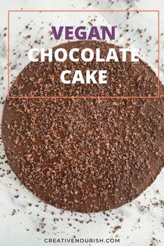 The Tastiest Vegan Chocolate Cake. #vegan #chocolatecake #healthydessert #familydessert #toddlersweets Hazelnut Cookies, Chocolate Hazelnut, Chocolate Cake, Healthy Baby Food, Healthy Sweets, 8 Month Old Baby Food, Baby Meal Plan, Banana Popsicles, Strawberry Oatmeal Bars